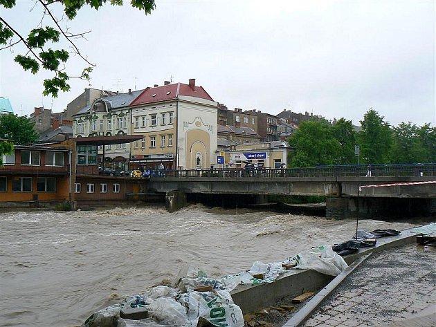 Velká voda, vítr a rozmary počasí v regionu