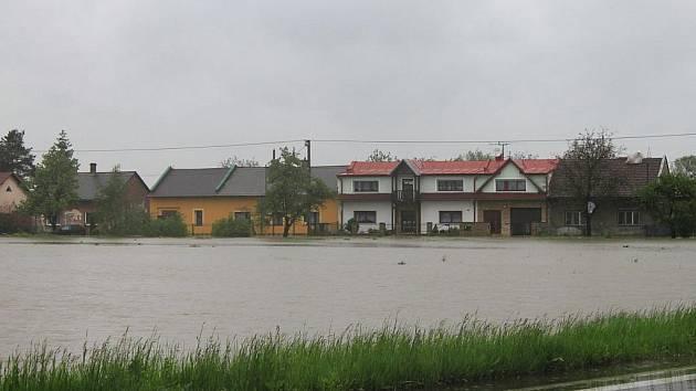 Záplavové ohrožení v Bohumíně