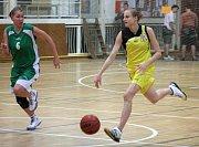 Kristýna Minarovičová v akci.