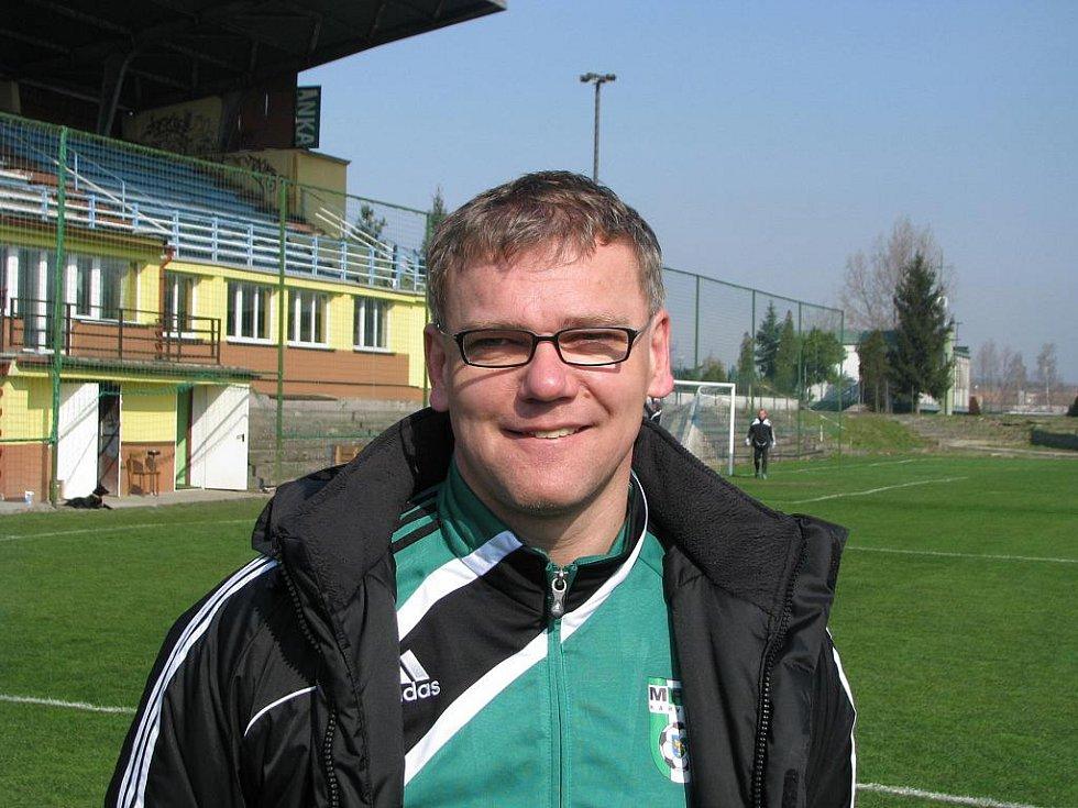 Nový trenér A-mužstva Jiří Balcárek.