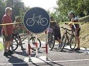 Nová cyklostezka v Petrovicích u Karviné