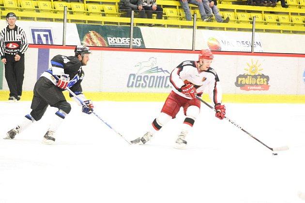 Hokejisté Havířova doma prohráli s Prostějovem.