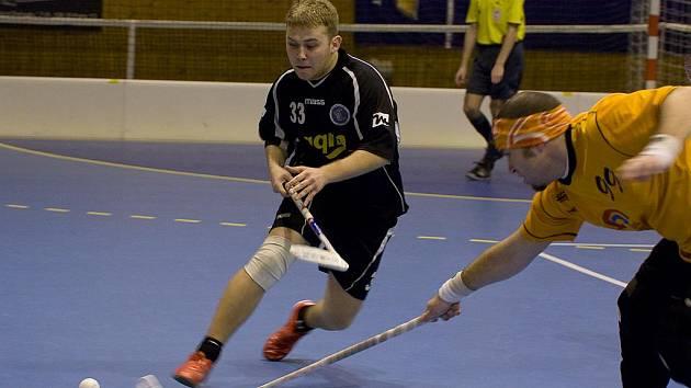 Florbalisté Petrovic získali v dalším kole své soutěže skalp Těšína.