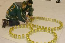 Pivní motivaci budou mít stejně jako při lednových oslavách 80 let založení klubu orlovští hokejisté.