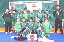 Nejmladší družstvo Baníku OKD Karviná - tým minižáků - vyhrál prestižní turnaj v Mělníku.