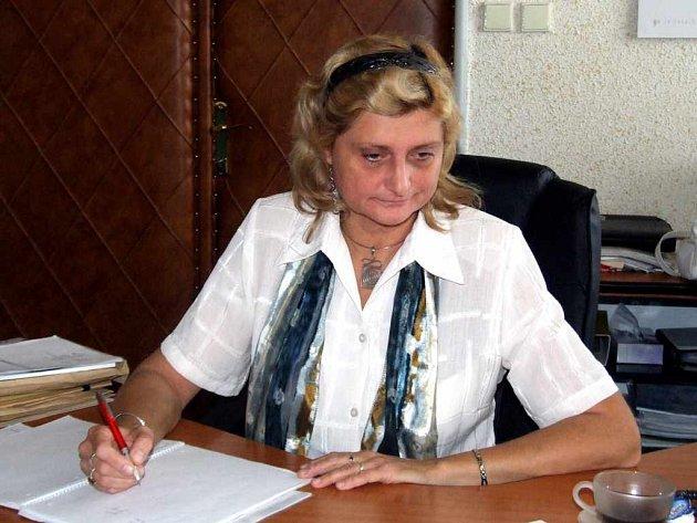 Odvolaná ředitelka havířovské nemocnice Věra Kovářová.