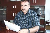 Ředitel ZŠ Na Nábřeží Svatopluk Novák