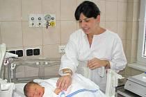 Kateřina Urbánková se synem Danielem