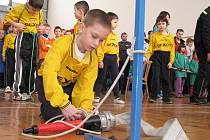 Halová soutěž mladých hasičů v Havířově