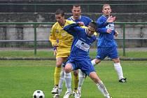 Orlovští fotbalisté prohráli s rezervou Zlína.