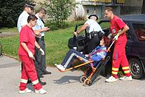 Opilá řidička ohrožovala chodce jízdou po chodnících
