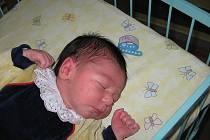 Štěpánek Řach se narodil 3. prosince mamince Lucii Řachové z Karviné. Porodní váha dítěte byla 3450 g a míra 51 cm.