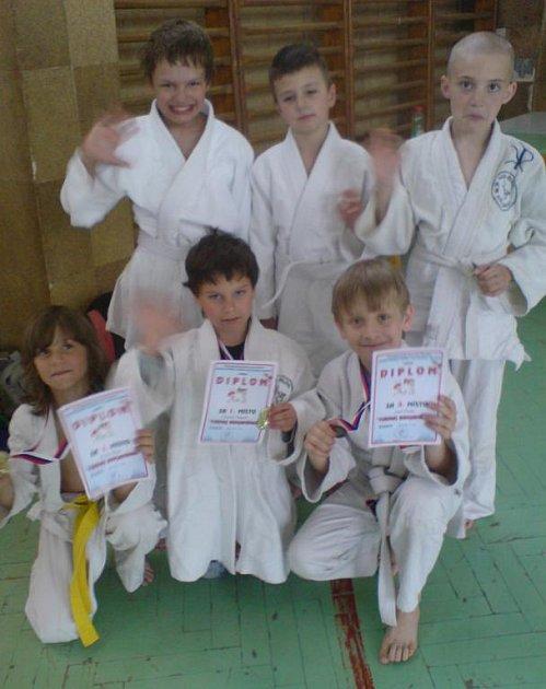 Malí judisté MSK Judo Orlová se představili na Májovém turnaji v Karviné.