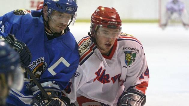 Ve vzájemném zápase měli navrch orlovští hokejisté