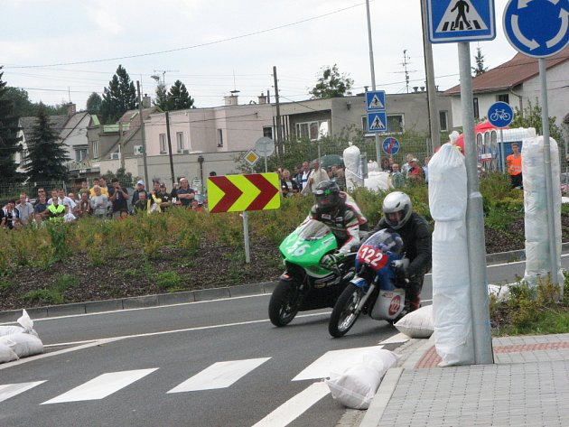 Havířovský zlatý kahanec 2008, Těrlický okruh, nedělní závod