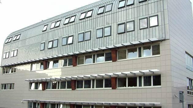 Justiční budova v Havířově-Podlesí.