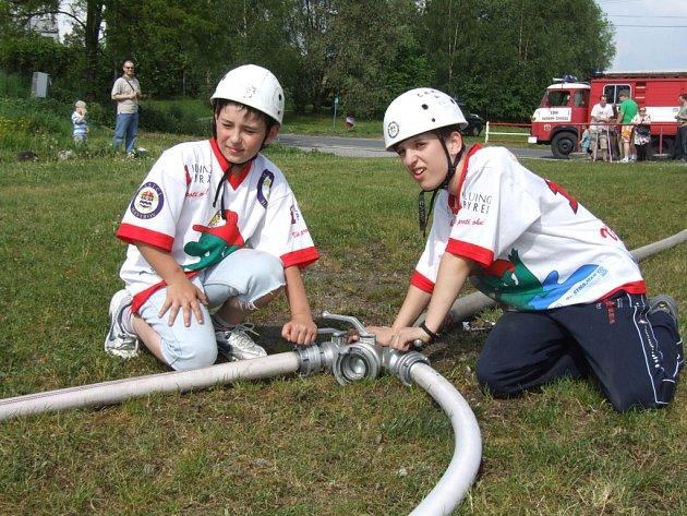 Mladí havířovští hasiči