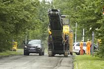 Oprava povrchu silnice