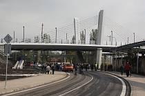 Po dvou letech je centrální část Bohumína opět spojena s částí Skřečoň mostem.