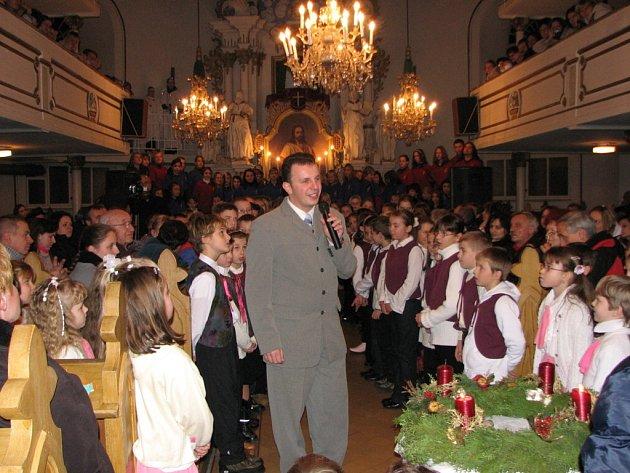 Oblíbeným místem vánočních koncertů je evangelický kostel v Havířově-Bludovicích.
