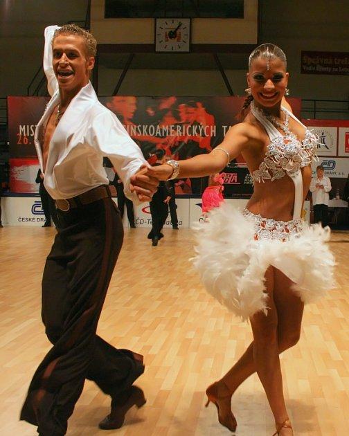 Marku Kypúsovi  a Kláře Chovančíkové jen těšně unikla medaile z mistrovství republiky.