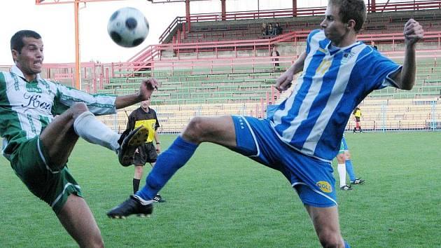 Havířovští fotbalisté se branky v divizi nedočkali ani napopáté.
