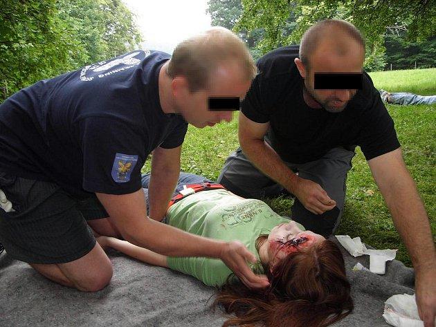 Cvičení v poskytování první pomoci