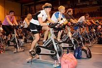 V Karviné se jel třetí ročník Spinning maratonu, kterého se zúčastnilo 75 jezdců