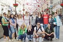 Studenti získávali zkušenosti i ve španělské Malaze.