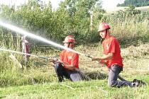 Oslavám 85. výročí založení hasičského sboru vévodily závody v požárním sportu.