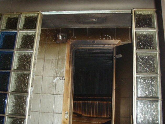 Vyhořelá sauna