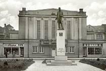 Pomník prvního prezidenta T. G. Masaryka.