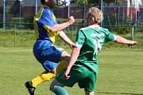 B tým Karviné zaváhal ve Veřovicích a o postup bude muset opětovně tvrdě bojovat.