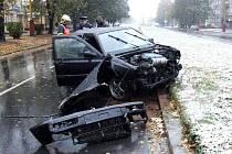Nehoda na Dlouhé třídě v Havířově