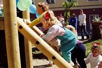 Dětské hřiště je v Havířově téměř v každém dvorku