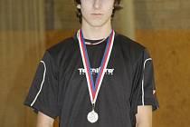 Havířovský tenista Filip Matějka je stříbrným medailistou v deblu.