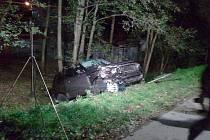 Vážná dopravní nehoda v Dolní Lutyni