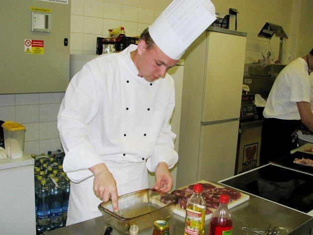 Oceněný kuchař Martin Staněk