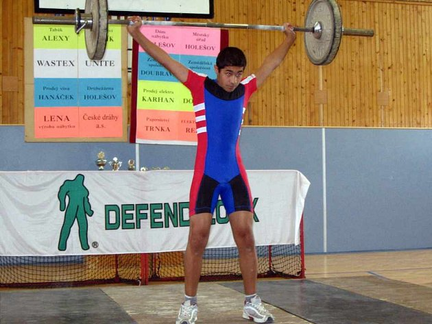 David Mirga dokázal překonat tři české rekordy.