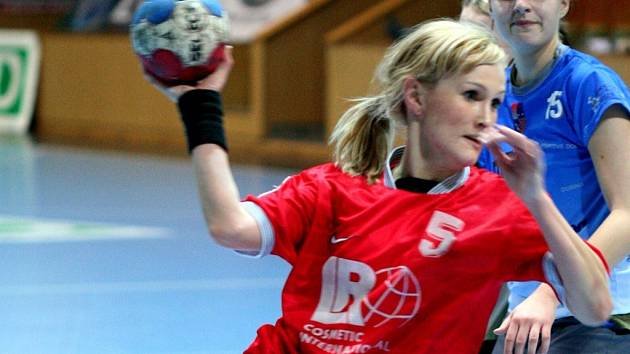 Lucie Hudečková se zapsala do střelecké listiny turnaje šestkrát.