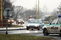 V některých přetížených a rizikových místech často hlídkují policisté.