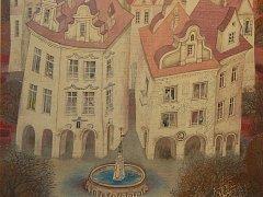 V karvinské Mánesově síni vystavuje místní rodačka, ilustrátorka Jolanta Lysková-Petržílková.