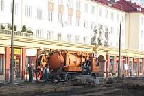 Revitalizace náměstí Budovatelů v Karviné-Novém Městě