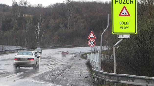 Kvalitu silnici na Karvinsku ovlivňuje těžba uhlí.