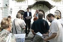 Procházka po památkách Cieszyna se setkala s velkým zájmem veřejnosti.