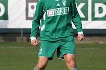 Marek Bielan vyztužil obranu Karviné B také v závěrečném duelu podzimu.