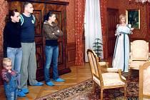 Princezny se přezdívá průvodkyním na zámku Fryštát.
