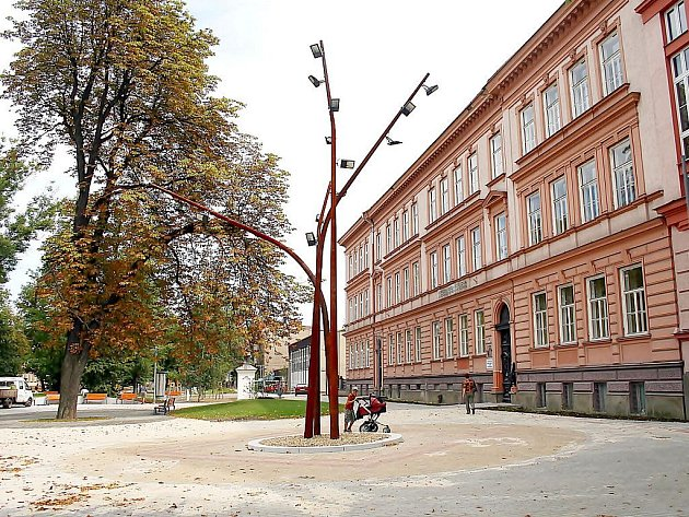 Rekonstruované Masarykovy sady v Českém Těšíně