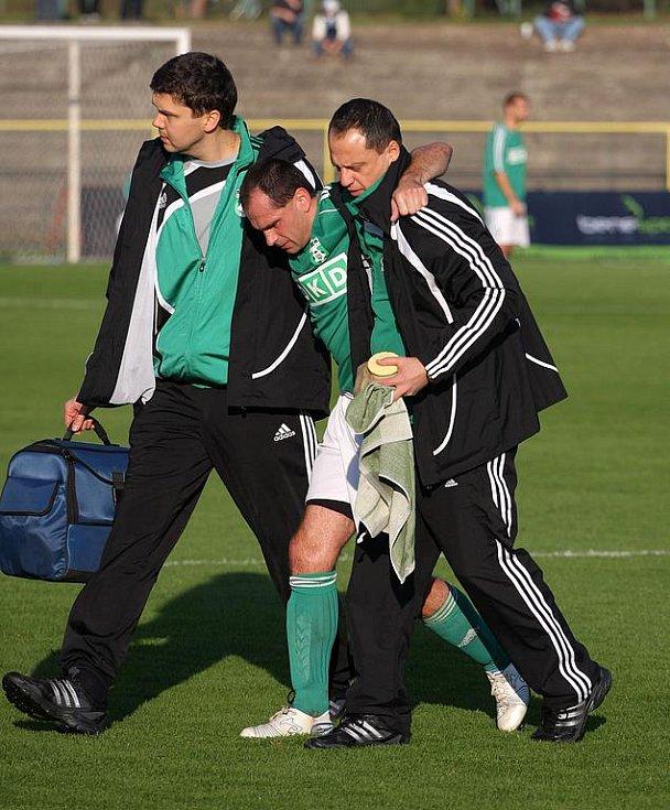Radek Slončík je na zranění smolař. Nebýt jich, mohl ve své fotbalové kariéře dosáhnout mnohonásobně větších úspěchů.