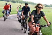 Bohumínští úředníci při pracovní cyklocestě